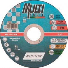 Disco Corte Fino 4.1/2 x 1,0MM x 7/8 Multicorte Norton